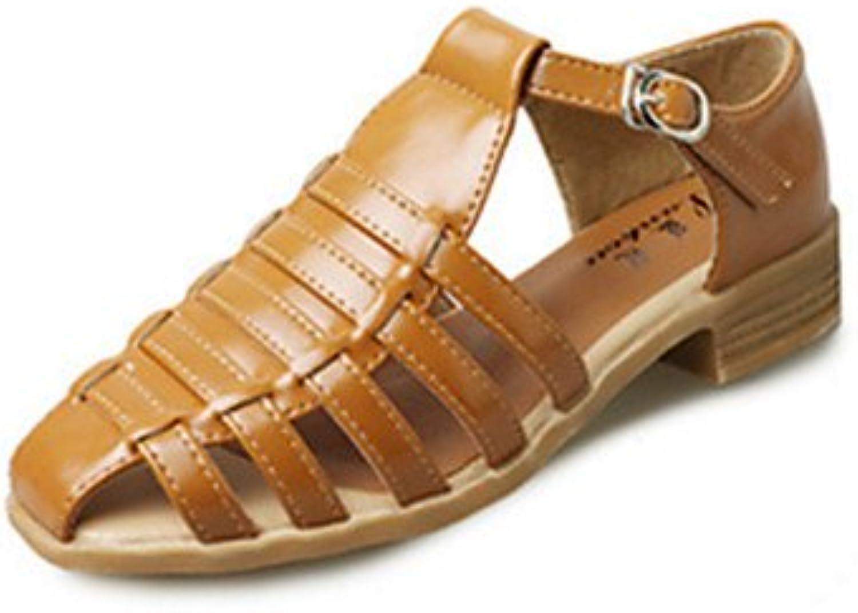 RTRY Las Mujeres Sandalias De Verano Otoño Zapatos Club Comfort Novedad Pu Oficina Exterior &Amp; Carrera Parte...