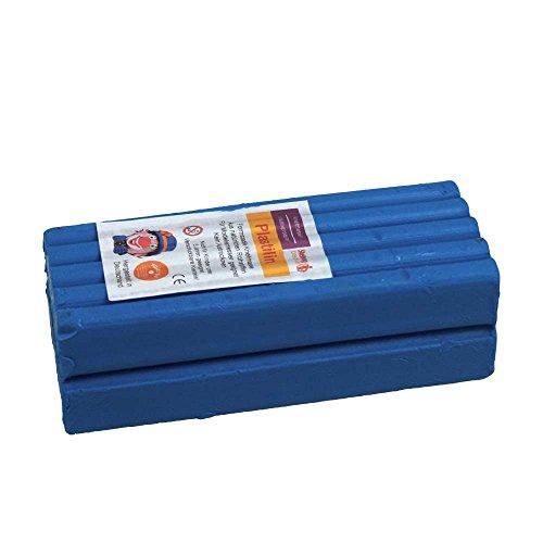 Stellwag 100237 Modelliermasse, Knetmasse, Blau (Plastilina Knetmasse)