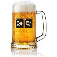 Jarra de Cerveza vidrio 50 cl. con frases Modelo Beer