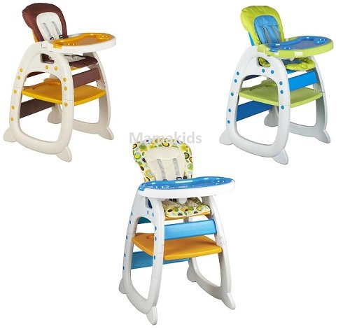 New Mamakids 3in1 Baby Infant Feeding Highchair + Play Table Toddler Table Chair 41jyiuskB1L