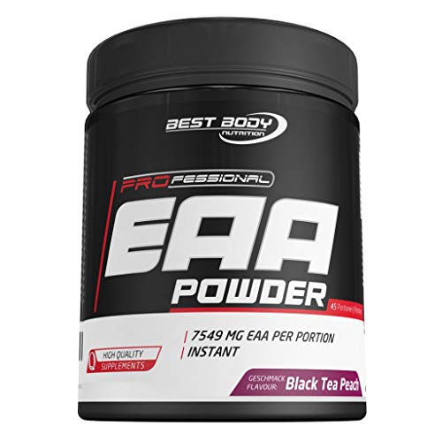 2 x Best Body Nutrition Professional EAA Powder, 450g Dose, Green Apple (2er Pack)