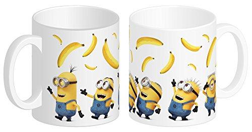 Despicable Me - Minions 93734 Minions Keramiktasse DM3 Banana in Geschenkpackung, 12 x 9 x 10 cm, 320 ml