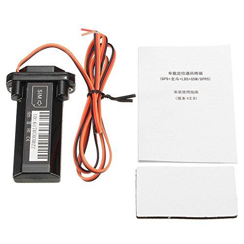 Preisvergleich Produktbild HermosaUKnight Auto Fahrzeug Motorrad GSM GPS Tracker Locator Globale Echtzeit-Tracking-Schwarz