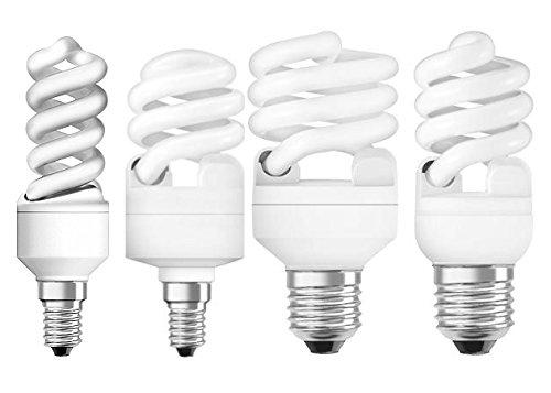 Osram Energiesparlampe Mini Twist 12 W, E27, warmweiß 605924