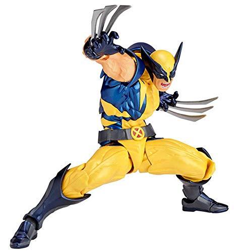 POIUYT 16cm PVC Wolverine Figura De Acción De Articulación