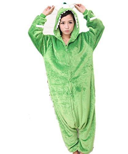 a78b43003f13 Kenmont Unicornio Juguetes y Juegos Traje Disfraz Animal Ropa de Dormir  Cosplay Disfraces Pijamas para Adulto Niños (S: 148-160CM, Monstruo)