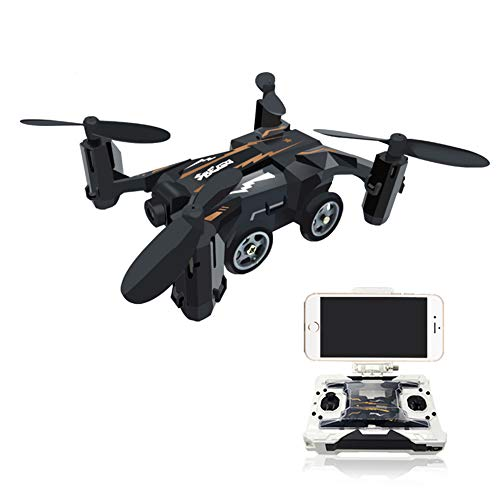 DHHZRKJ Mini Pocket UAV 4CH 6Axis Gyro Umschaltbarer Controller Quadcopter UAV RTF,Black Luftaufnahmen Anzeigen