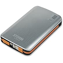X-Trom G025AL370 - Batería externa de 7300 mAh (mini USB, MicroUSB)