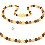 Best Amber Teething Necklaces - Baltic Secret Amber Necklace Authentic Raw Amber Beads Review