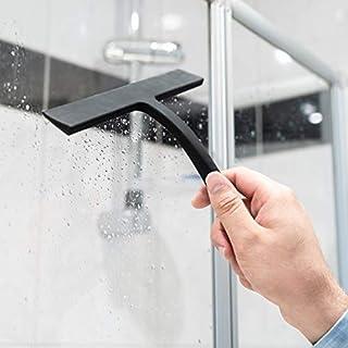 aptletics® Duschabzieher Picobello - Streifenfreier Abzieher bei geringem Druck - Fensterabzieher aus Silikon mit Edelstahl-Kern für Dusche | Badezimmer | Spiegel | Glas-Reinigung | Fliesen