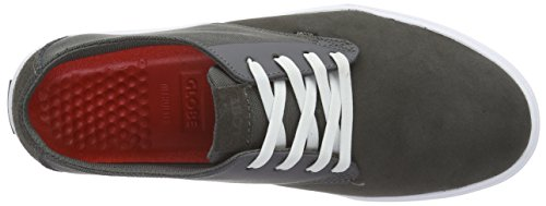 Globe Herren Motley Lyt Low-Top Grau (Charcoal/White)