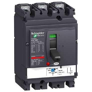 Schneider elec pbt - pac 15 04 - Interruptor control magnetico nsx250h...