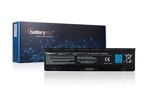 Batterytec® Laptop Akku für TOSHIBA PA5108U-1BRS PA5109U-1BRS PA5110U-1BRS PABAS271 PABAS272 PABAS273, TOSHIBA Satellite C40-AD05B1 C40-AT15B1 C40-AS20W1 C40-AT19W1 C40-AT01W1 C40-AS22W1 C45-ASC1B C45-AK15B1 C45-AK08B1 C45-AT79B C45-AK06B C45-AK07B C50-AT01W1 C50-AT03W1 C50D-AT01B1 C50-AC09W1 C50-AT08B1, TOSHIBA Satellite C50T C55 C55D C55DT C55T C70 C70-A, TOSHIBA Satellite Pro C70 C70-A, Satellite C75 C75D C75DT C75T. [10.8V, 12 Monate Herstellergarantie] (4400mAh)