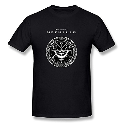Herren's O Neck The Fields Of Nephilim Shirt Large -