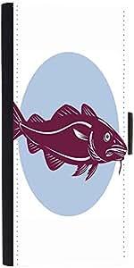 Snoogg Atlantic Codfish Retro Designer Protective Phone Flip Case Cover For Vibe K4 Note