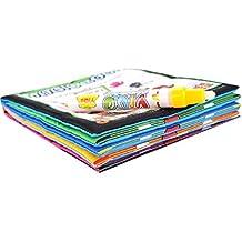 Tongshi Mágicas agua libro de dibujo para colorear animales de pluma mágica libro Doodle pintura