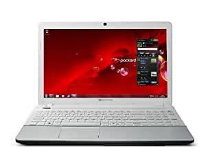 "Packard Bell EasyNote TS44-HR-250FR Notebook 15,6"" (39,62 cm) LED Intel Core i5-2450M 500 Go 4096 Mo Blanc"