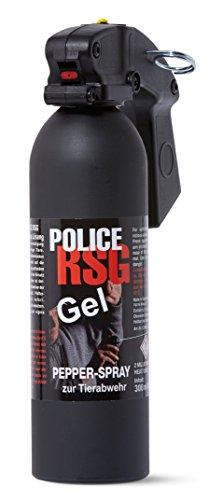 RSG Police Profi Pfefferspray Gel Spray 300 ml Pepper Gel Abwehrspray