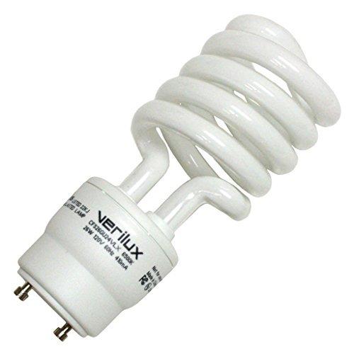 Verilux CFS26GU24VLX Natural Spectrum Replacement Light Bulb, 26 Watt by Verilux -