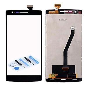 Display LCD Komplett Einheit für ONEPLUS One 1+ A0001 Reparatur Schwarz + Werkzeug Opening Tool