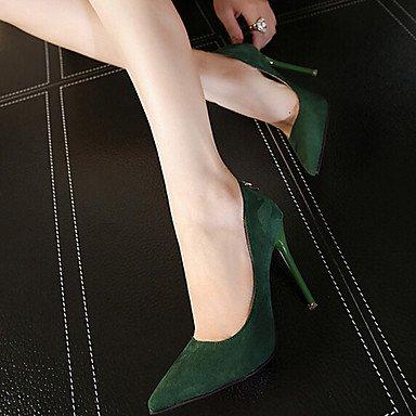 RTRY Donna Mocassini &Amp; Slip-Ons Comfort Pu Molla Informale Comfort Borgogna Verde Piatto Nero US7.5 / EU38 / UK5.5 / CN38