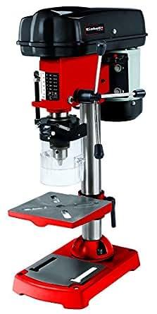 Einhell - Trapano a colonna TC-BD 350 (350 W, 580-2650 giri/min, velocità regolabile su 5 livelli, rotazione a 3 bracci, inclinabile, orientabile e regolabile in altezza, protezione trucioli)