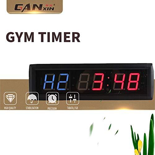 [GANXIN]New 1.8 inch 6 Digital LED Interval Wall Clock