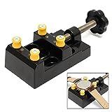 sourcemall mit Mini-Werkbank Schraubstock Tischplatte Clamp Drill Press Schraubstock für Hobby-Handwerker