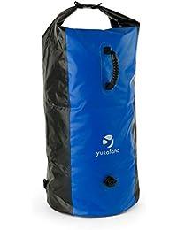 yukatana Quintono 100 • Seesack • Packsack • Rollbeutel • Trekking-Rucksack • Travel-Reiserucksack • 100 L • 2 Tragegurte • Henkel • wasserdicht • winddicht • Clip-Schnalle • verschiedene Farben