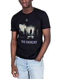 Cosmic Saint Ufficiale L'ESORCISTA Poster T-Shirt Unisex Horror Film TV ROMANZO William