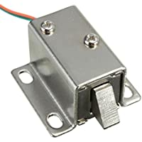 Mieoson Elektroschloss, 12V DC 0.43A Schrank Schublade elektrische Türschloss Montage Magnetverschluss 27x29x18mm by