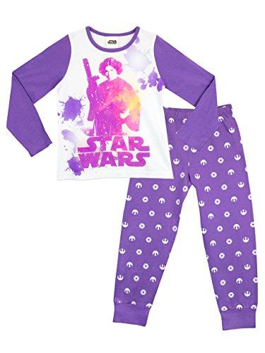 Star Wars Mädchen Prinzessin Leia Schlafanzug 128 (Mädchen Aus Star Wars)