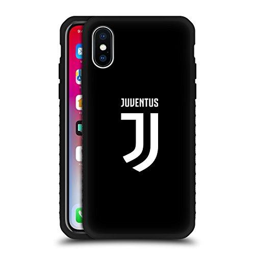 Ufficiale juventus football club semplice design vari nero armatura leggera case per iphone x/iphone xs