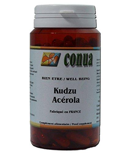 Kudzu raiz + Acerola 120 cápsulas, Reducción efectiva de la adicción al alcohol ya la nicotina