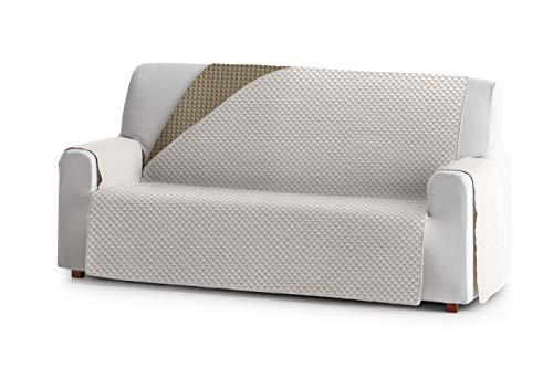 Eysa Oslo Salva, Microfiber, C/0 Greggio-Visone, 3 posti 160cm. Adatto per divani da 170 a 210 cm