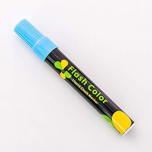 Bureze Flüssigkreide-Marker, radierbar, bunte Textmarker, LED-Schreibtafel, Glas, Fenster, Kunstblitz (Led Farbige Bleistift,)