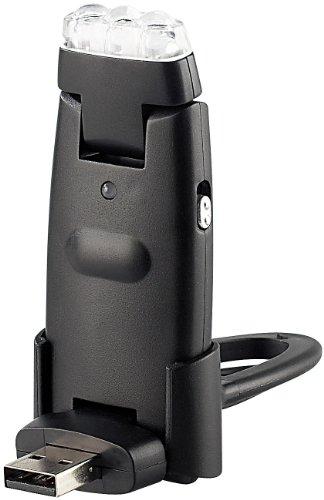 PEARL USB Leselampe: 3in1-USB-Lampe mit 3 Power-LEDs und integriertem Akku (Computerlampe)