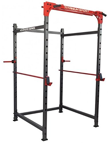 Jaula Power Rack Titanium
