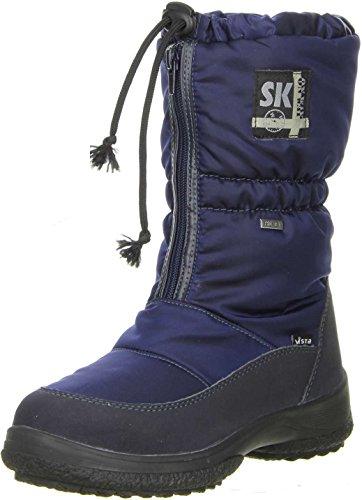 Vista Damen Winterstiefel Snowboots EISKRALLEN blau Blau