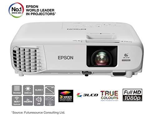 Epson EB-U05 - Proyector Full HD, color blanco
