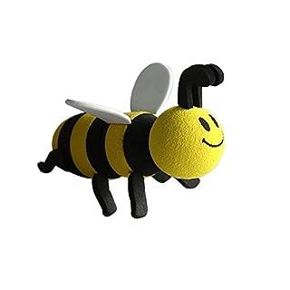 Happy Bee Car Antenna Topper Honey Bumblebee Aerial Ball - Antenna Ball