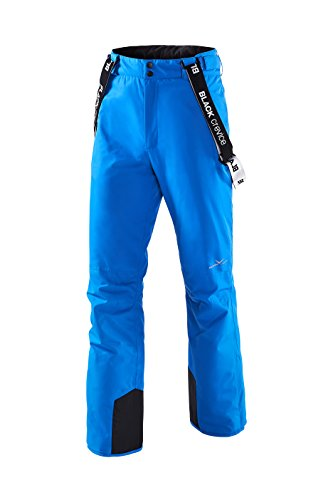 Black Crevice Herren Skihose, Electric Blue, 50