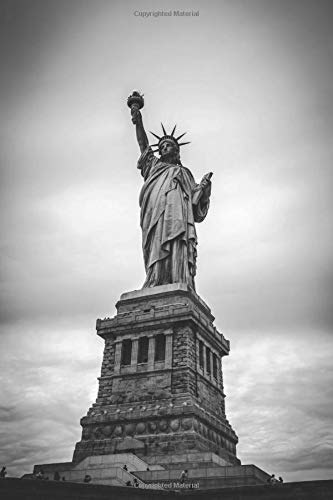 Statue of Liberty: Travel Notebook, Journal, Diary (110 Pages, Blank, 6 x 9) (Gift-statue)