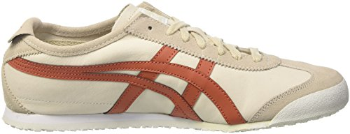 Asics Mexico 66, Sneakers basses mixte adulte Bianco (Off-White/Cinnamon)