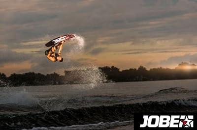 Jobe Logo 139 Pack Rot 278814005 Wakeboard Board Wasserboard Bindung Wassersport Wasser Set Wakeboardset