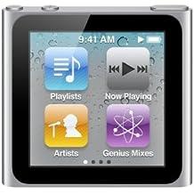 Apple iPod Nano (6. GEN) 8 GB - Plata [importado de Reino Unido]