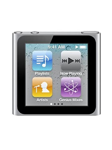 Apple iPod nano 8 Go Argent (6ème génération)