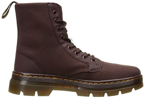 Dr. Martens Combs Cordura/ Rubbery Oxblood, Chaussures bateau homme Rouge Oxblood