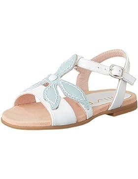 Unisa Mädchen Leani_pa Offene Sandalen mit Keilabsatz