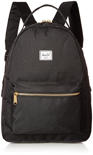 Herschel Supply Co. Negro Nova Mid-Volume mochila